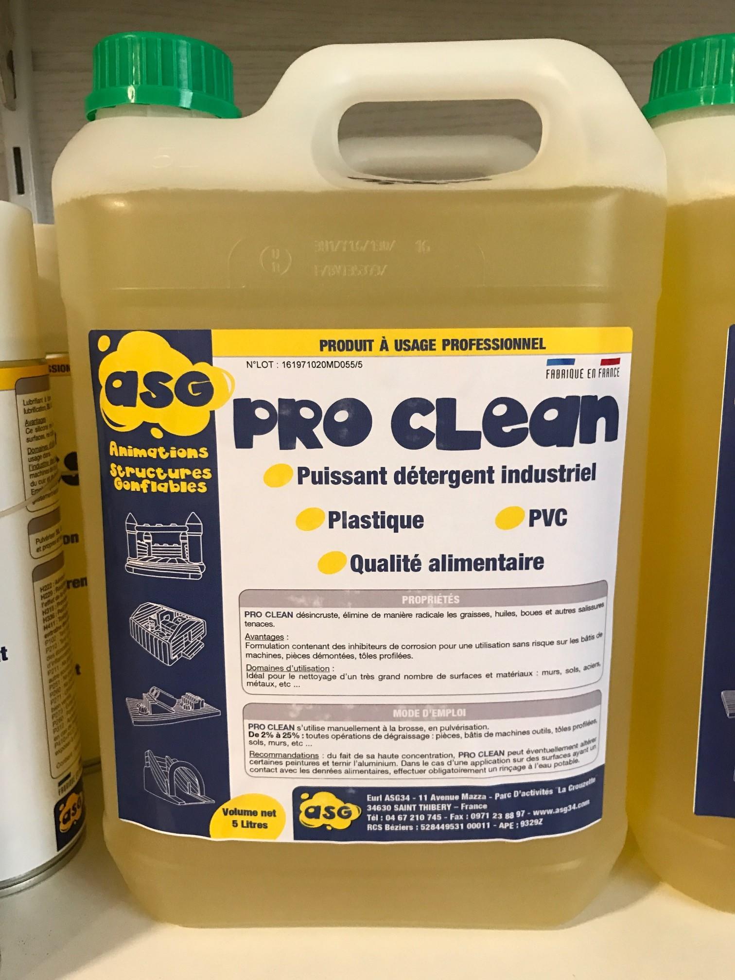 Quel Produit Pour Nettoyer Le Pvc pro clean nettoyant spécial pvc