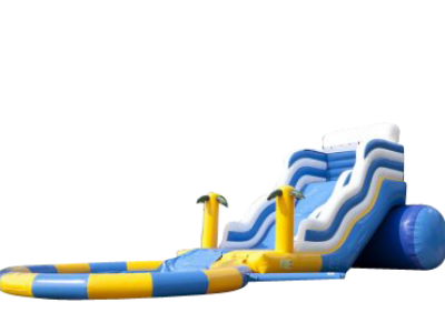 "Toboggan Gonflable "" WAVE AQUATIQUE"""