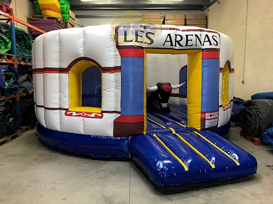aire de jeux gonflable arenes  Gonflables asg34 vente fabrication location - Animations gonflables ASG34