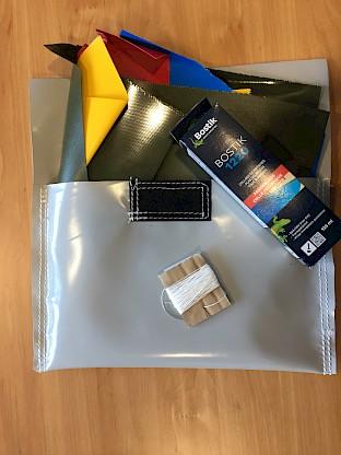 R paration de jeu gonflable trou dans votre ch teau gonflable thermosoudure rustine - Kit reparation matelas gonflable ...