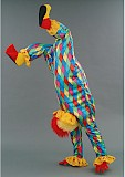 Mascotte de clown acrobate