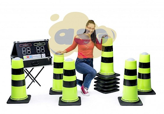 cone jeux ips interactive play system asg34   location vente fabrication