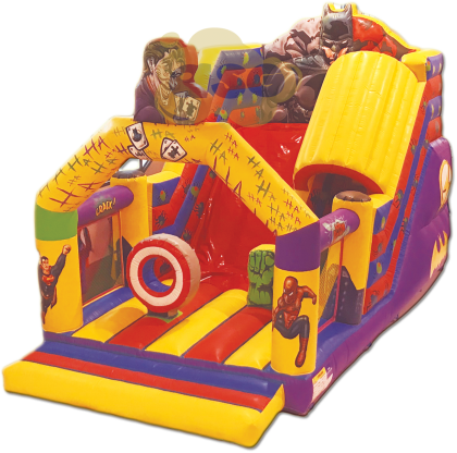 toboggan tunnel SH gonflable asg34  - Animations gonflables ASG34 : location et vente de jeux gonflables
