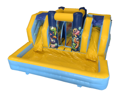 "Toboggan Gonflable ""AQUAZONE"""
