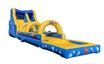 "Toboggan Gonflable ""AQUATICO"""