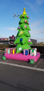 Sapin de Noel gonflable - 1195€ht