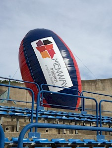 BALLON RUGBY Gonflable - 795€ht