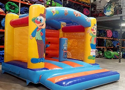 Chateau Gonflable CLOWN - 1000€ht