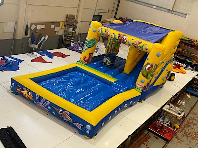 "Combo Gonflable ""AQUALAND"" 2200€ht"
