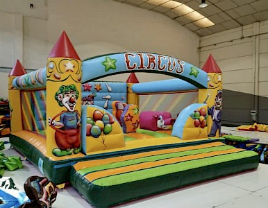 Chateau Gonflable CIRCUS MAXI - 2900€